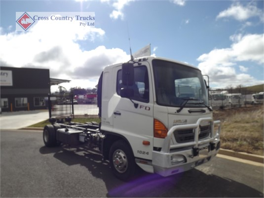 2009 Hino FD1024 Cross Country Trucks Pty Ltd - Trucks for Sale