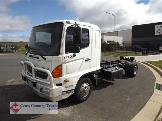2009 Hino FD1024 Cross Country Trucks Pty Ltd - Trucks for Sale