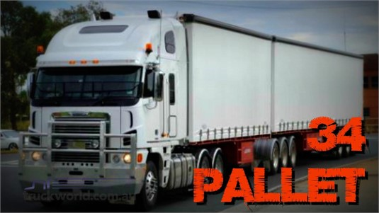 2004 Vawdrey 34 Pallet Curtainsider B Double Set Southern Star Truck Centre Pty Ltd - Trailers for Sale