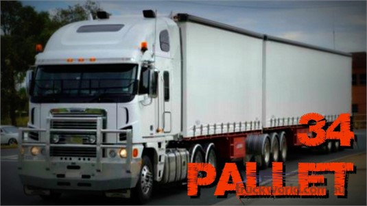2004 Vawdrey 34 Pallet Curtainsider B Double Set - Trailers for Sale