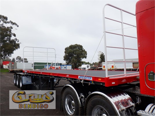 1999 Freighter Flat Top Trailer Grays Bendigo - Trailers for Sale