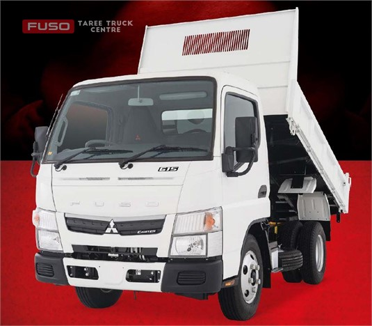 Fuso Canter 4x2 615 City Cab Tipper SWB 5 Sp. MAN