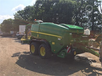 Used JOHN DEERE Round Balers for sale in the United Kingdom