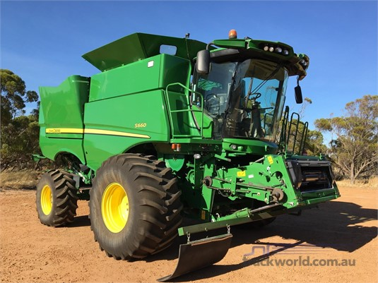 2016 John Deere S660 Farm Machinery for Sale