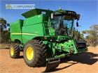 2016 John Deere S660 Combine Harvesters