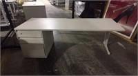(2) Laminated Desk's
