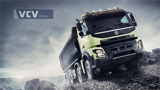Volvo FMX13 CTX 6x4 Rigid T-Ride Mining Support UFUP