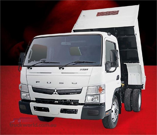 Fuso Canter 4x2 815 Wide Cab Tipper SWB 6 Sp. DCT