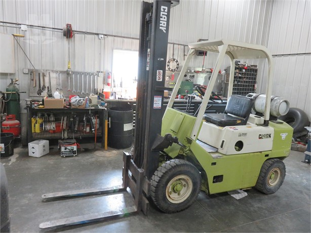 CLARK Forklifts Auction Results - 1326 Listings | LiftsToday com