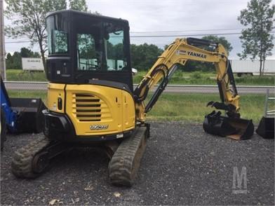 YANMAR Mini (Up To 12,000 Lbs) Excavators For Sale - 408 Listings