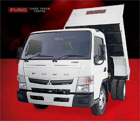 Fuso Canter 4x2 815 Wide Cab Tipper SWB 5 Sp. Man