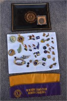 Group Lion's Club Pins