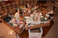 Boxes Full Glassware, etc