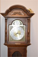 Old Howard Miller Grandfather Clock