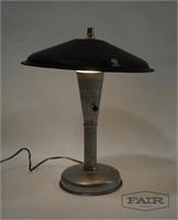 Keystone Aluminum Lamp w/ Steber Shade