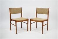 Set of 4 Scan Teak Chairs