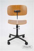 Rabami Stole Danish Teak Desk Chair