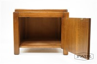 Square Lane End Table with Storage