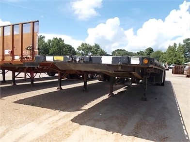 1994 LUFKIN 48' FLATBED TRAILER Other Auction Results - 1 ... on
