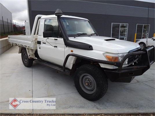 2011 Toyota Landcruiser Cross Country Trucks Pty Ltd - Light Commercial for Sale
