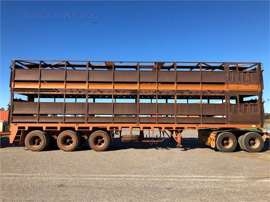 2009 Howard Porter Stock Crate Trailer Midwest Truck Sales - Trailers for Sale
