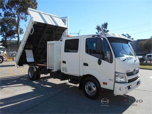 2013 Hino 300 Series 917 Crew Cab City Hino - Trucks for Sale