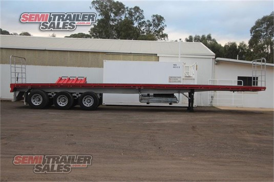 2013 Maxitrans 45FT Flat Top Semi Trailer Semi Trailer Sales - Trailers for Sale