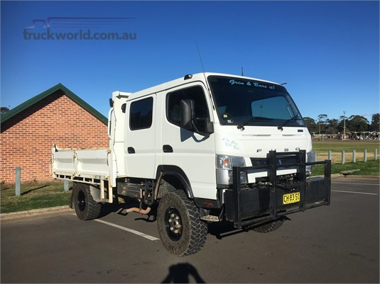 2016 Fuso Canter FG 4x4 Crew Cab - Trucks for Sale
