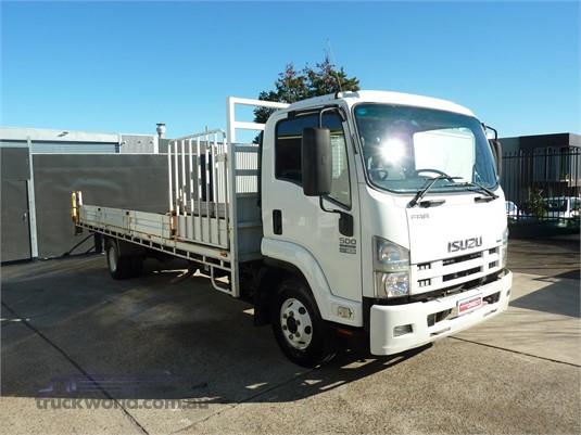 2011 Isuzu FRR 500 XLong Trucks for Sale