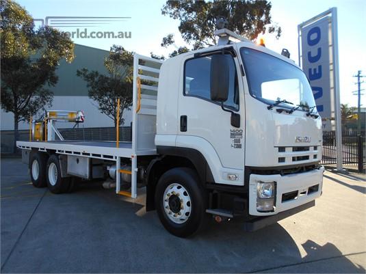 2012 Isuzu FVZ 1400 Auto Trucks for Sale