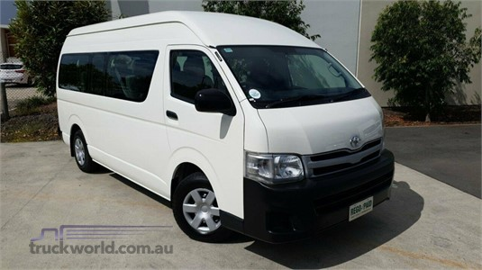 2011 Toyota Hiace Trh223r My11 Commuter High Roof Super Lwb - Light Commercial for Sale