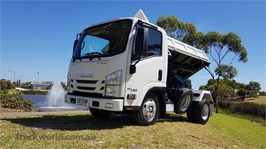 2019 Isuzu NLR 55 150 Tri Tipper - Truckworld.com.au - Trucks for Sale