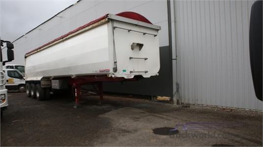 2014 Hamelex White Tipper Trailer North East Isuzu  - Trailers for Sale