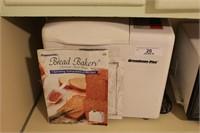 Breadman Plus Automatic Bread Maker, White