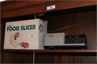 Food Slicer, Knife Sharpener, Electric Skillet, et