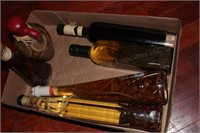 Olive Oil Bottle, Decorative Glass Oil Bottles