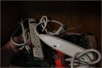 Power Traps/ Power Strips, Ext Cord, Wall Adapter