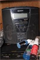 Sony Mega Bass CD Player, Many Power Cords