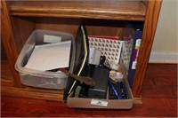 Office Supplies, Binders, Leather Keeper, etc
