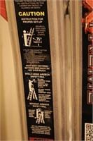 12 Rung Aluminum Multi Fold Locking Ladder