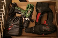 2pc Cordless Screw Gun w/ Charger & Battery