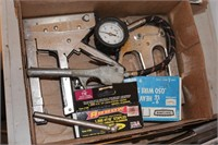 Craftsman, Arrow Staple Guns, Staples, Tire Gauge