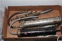 Grease Guns and Assorted Nozzles
