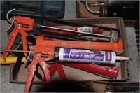 5pc Plunger Caulk Guns