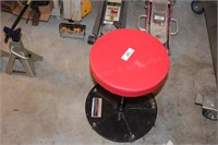 Pittsburgh Pneumatic Roller Seat, Red