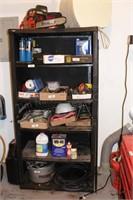 Black Plastic Shelf- 5 Shelves - No Contents