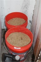 2pc 5gal Bucket Grass Seed, Ground Clear Killer