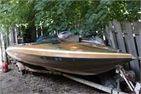 1983 17.7' Glastron Carlson Boat w/ Mercury 135
