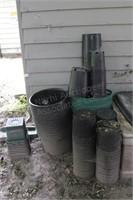 Hydroponic Equipment; Barrels, Pots, Supplies, etc