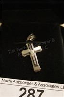 Madelyn Cross Pendant in Box